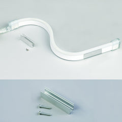 120V Flexible LED Neon Light - Single Side Lighted - Cool White