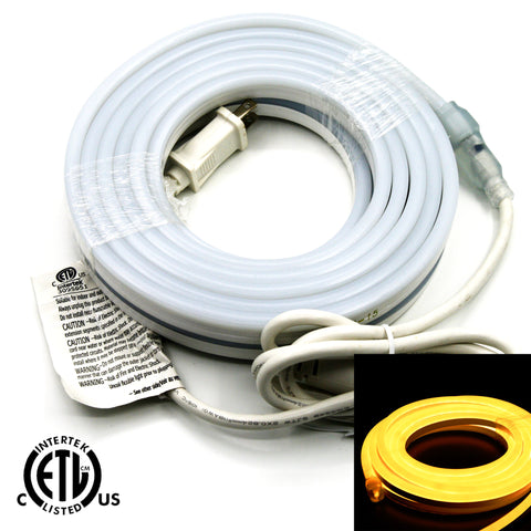 Flexible LED Neon Light - Single Side Lighted - Warm White