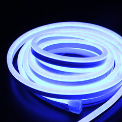 Flexible LED Neon Light - Single Side Lighted - Blue