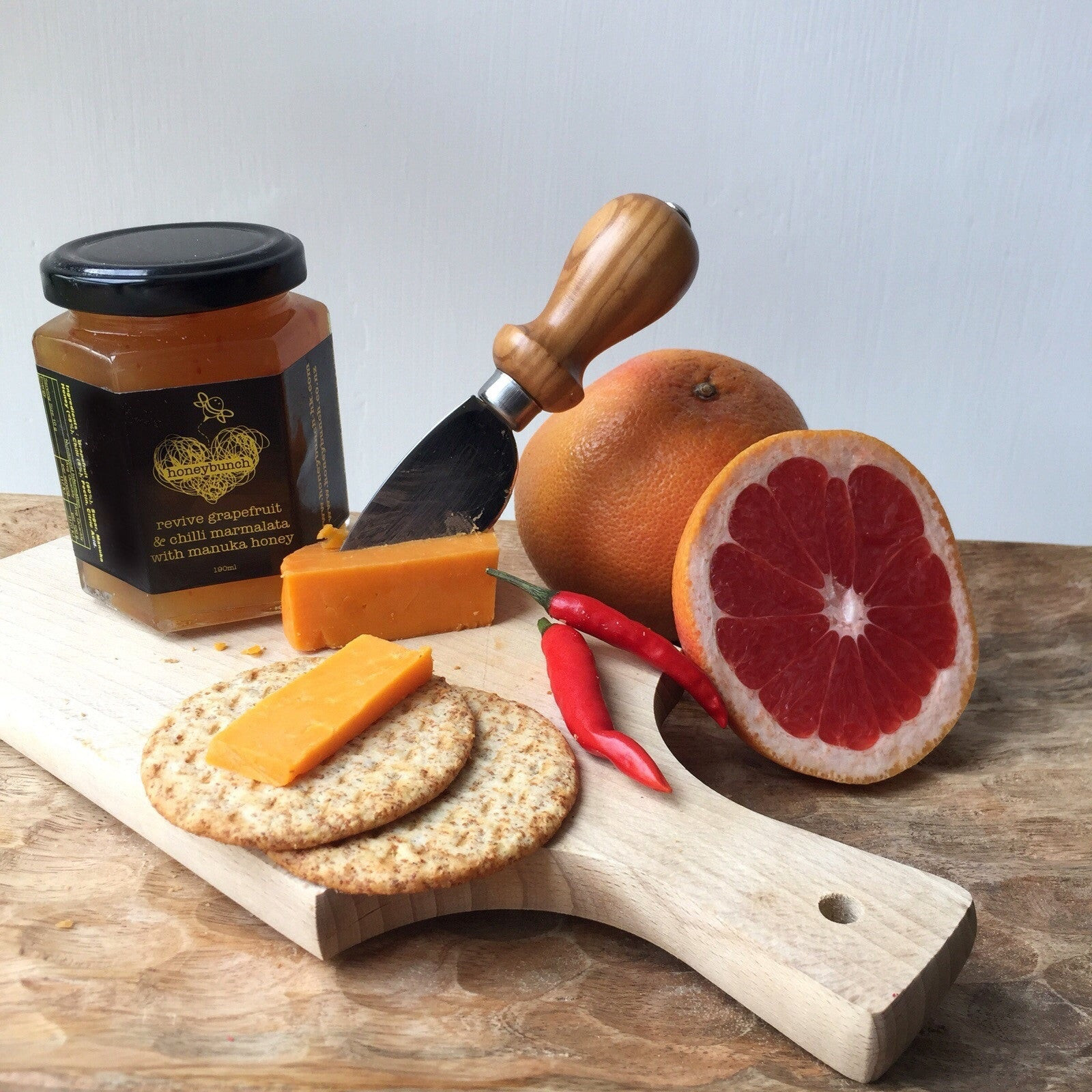 revive grapefruit chilli marmalata infused with manuka honey