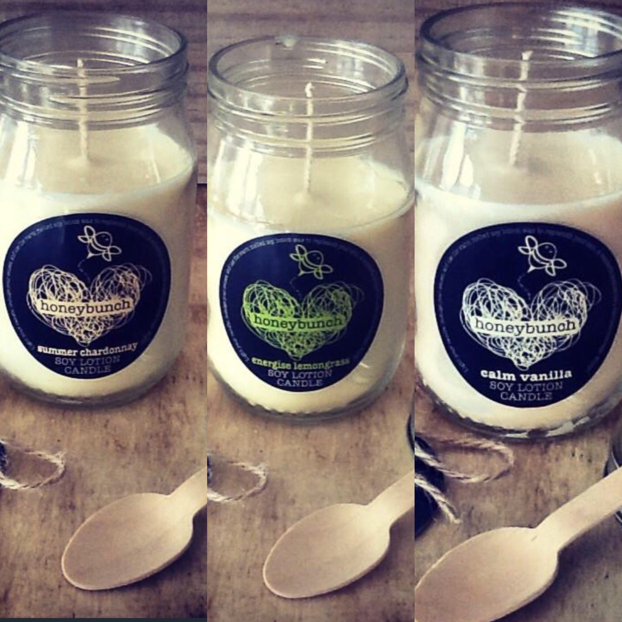 Get 'lit' soy lotion candle trio