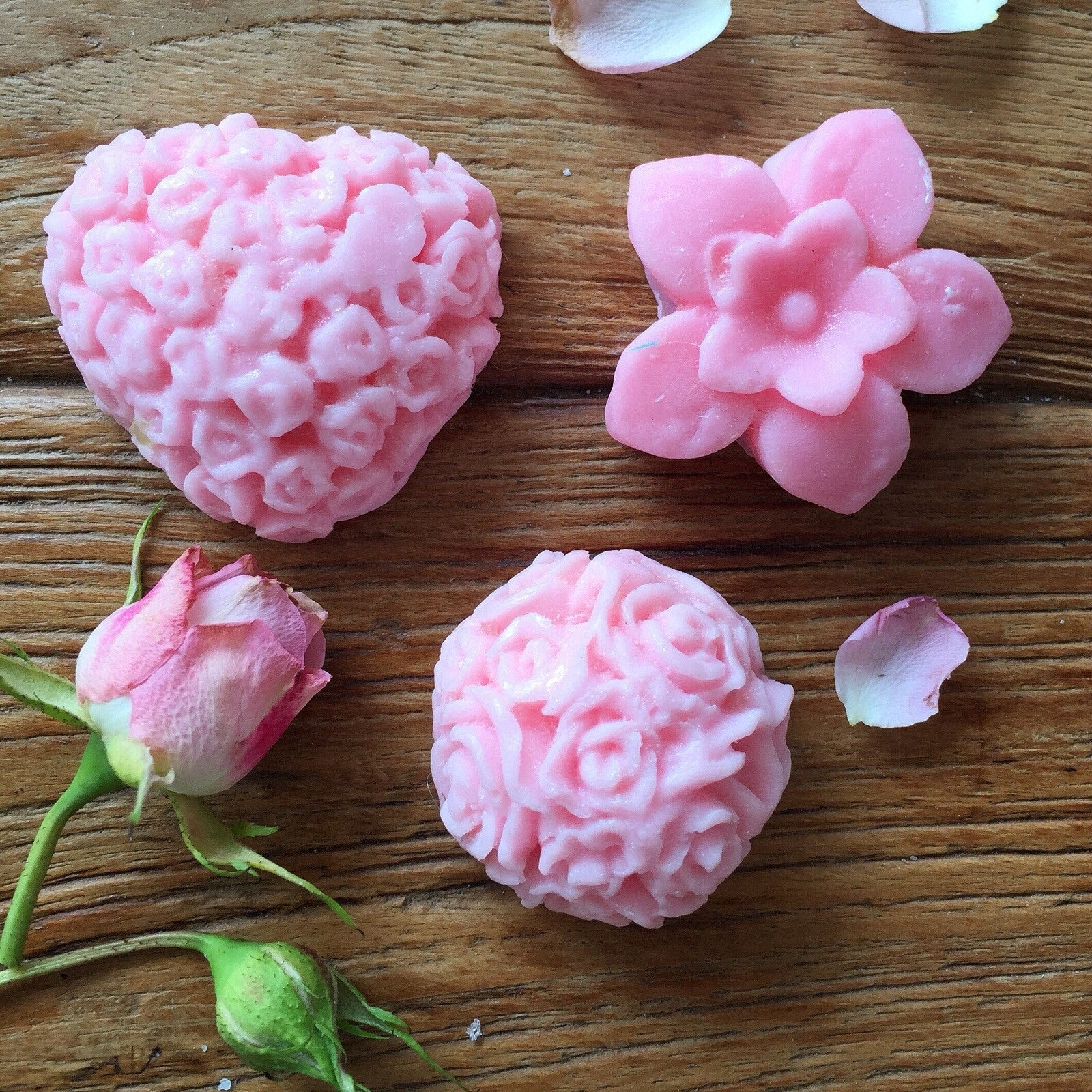 Guest 'who' pretty Romantic rose soap