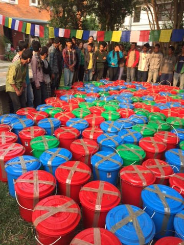 Aid packages, Kathmandu May 2015