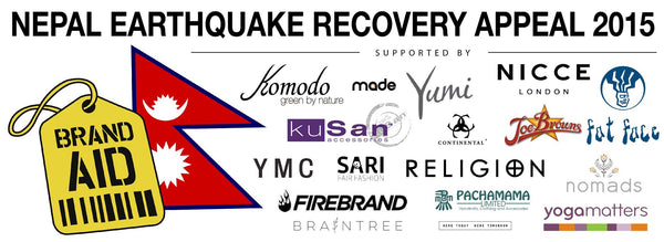 Brands for Nepal Earthquake Recovery Appeal 2015