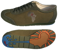 Water for Africa shoe - Olive