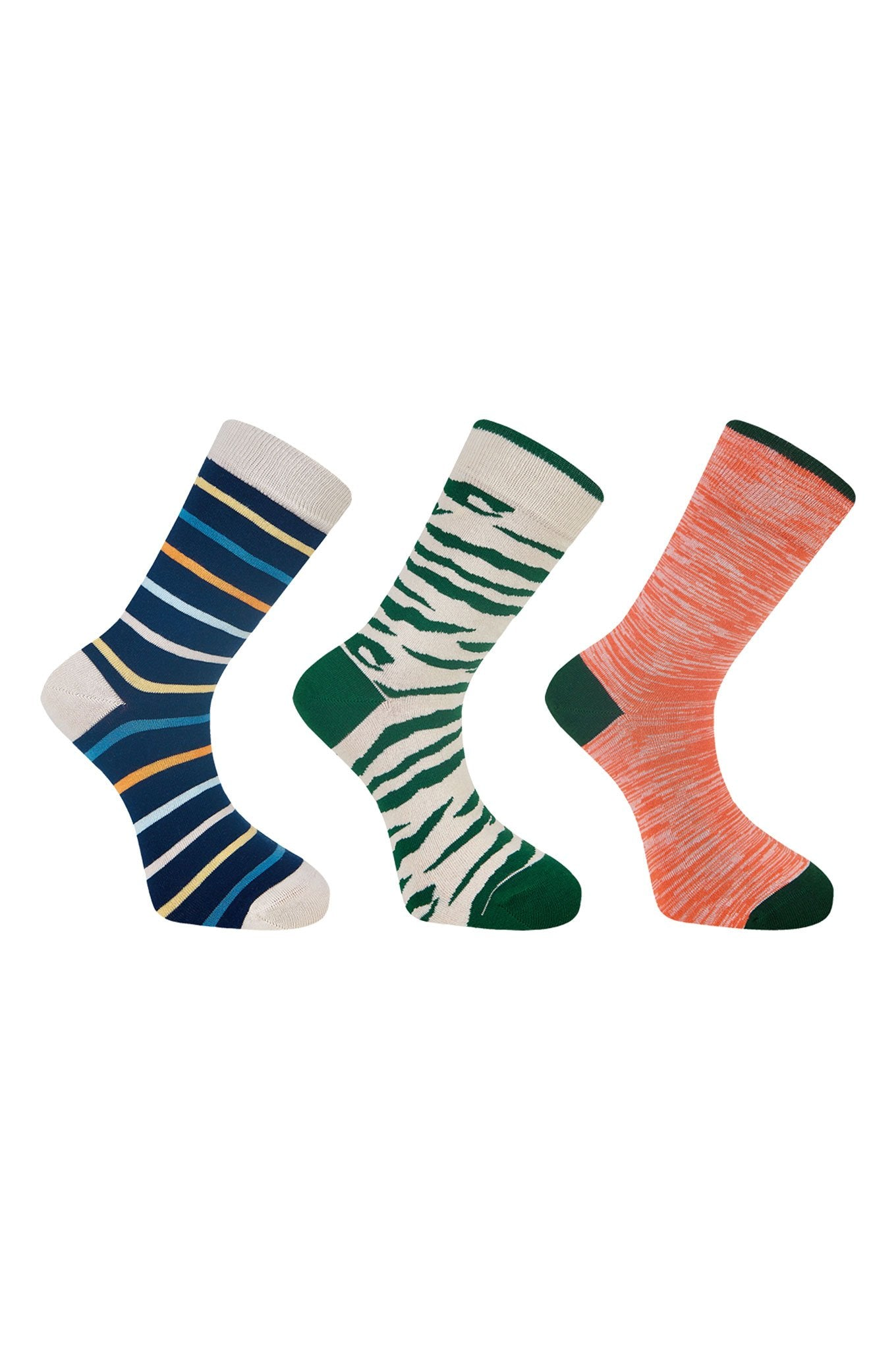 LUCKY DIP - GOTS Organic Cotton Sock Bundle (3 Pairs)