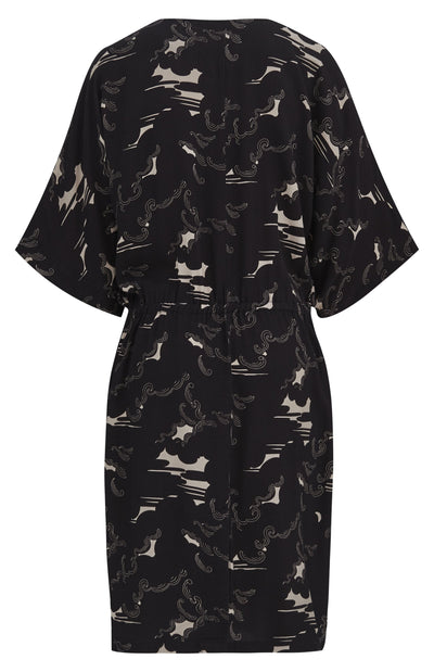 OBI Rayon Dress Black