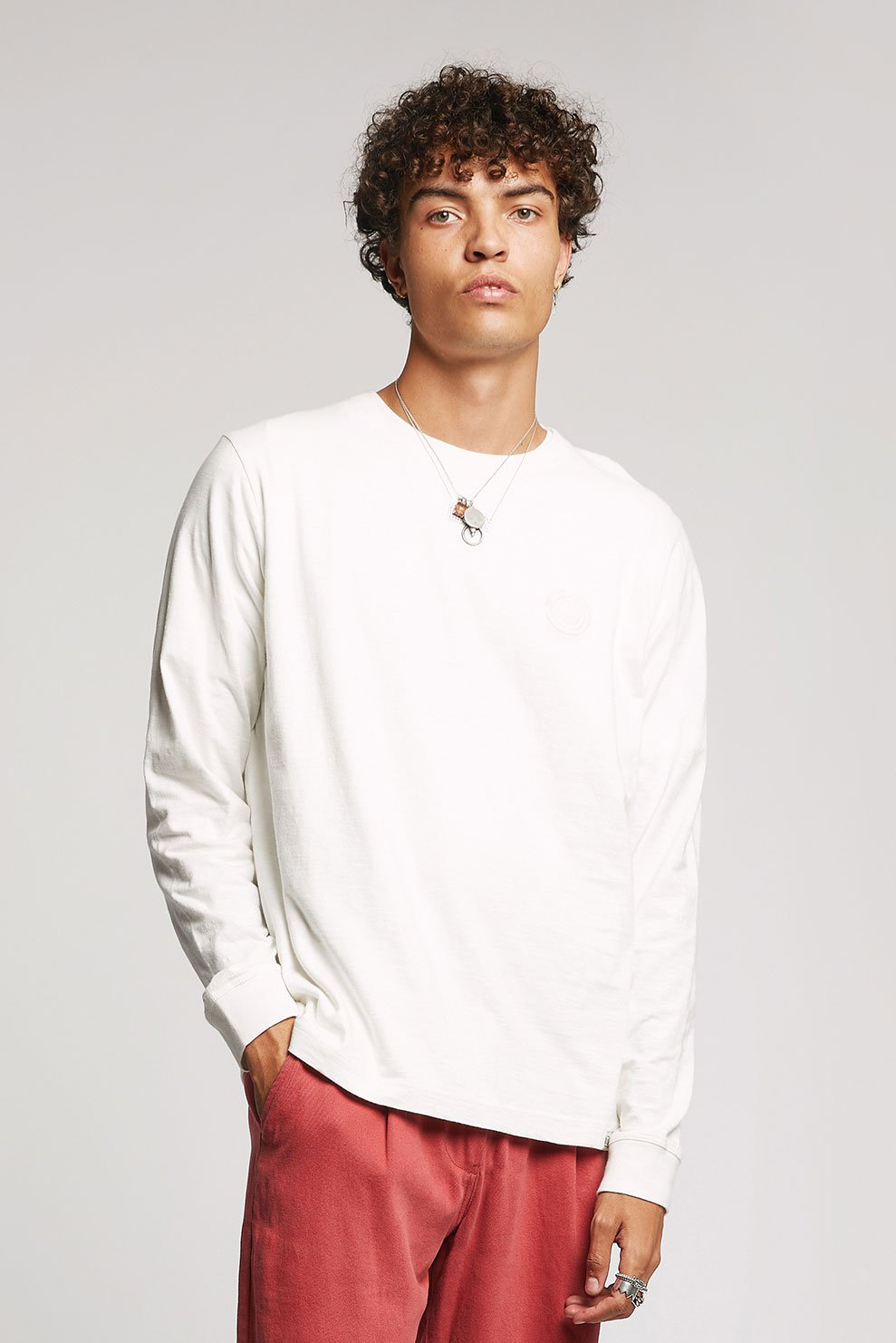 HAKON - GOTS Organic Cotton Tee Off White