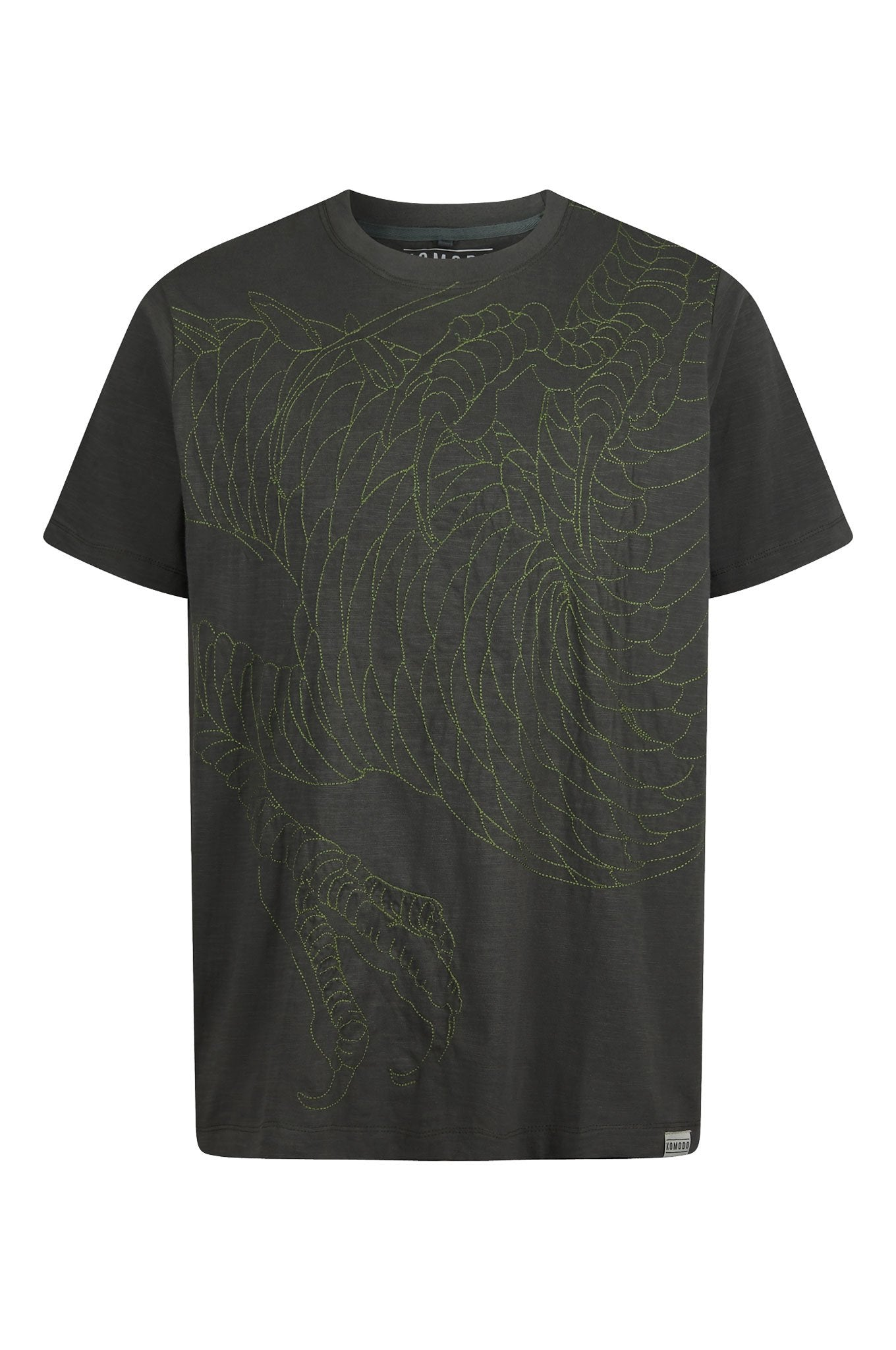 DRAGON - GOTS Organic Cotton Tee Coal