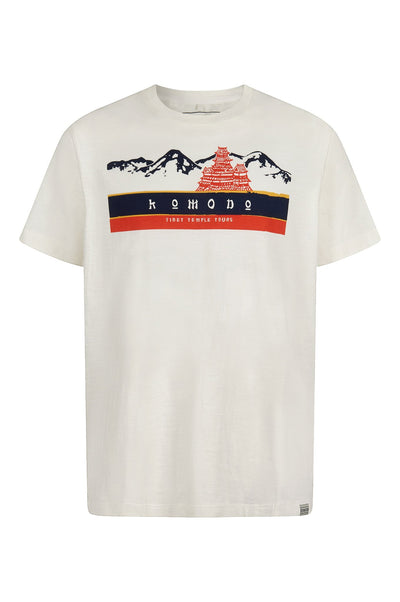 TEMPLE - GOTS Organic Cotton Tee Off White