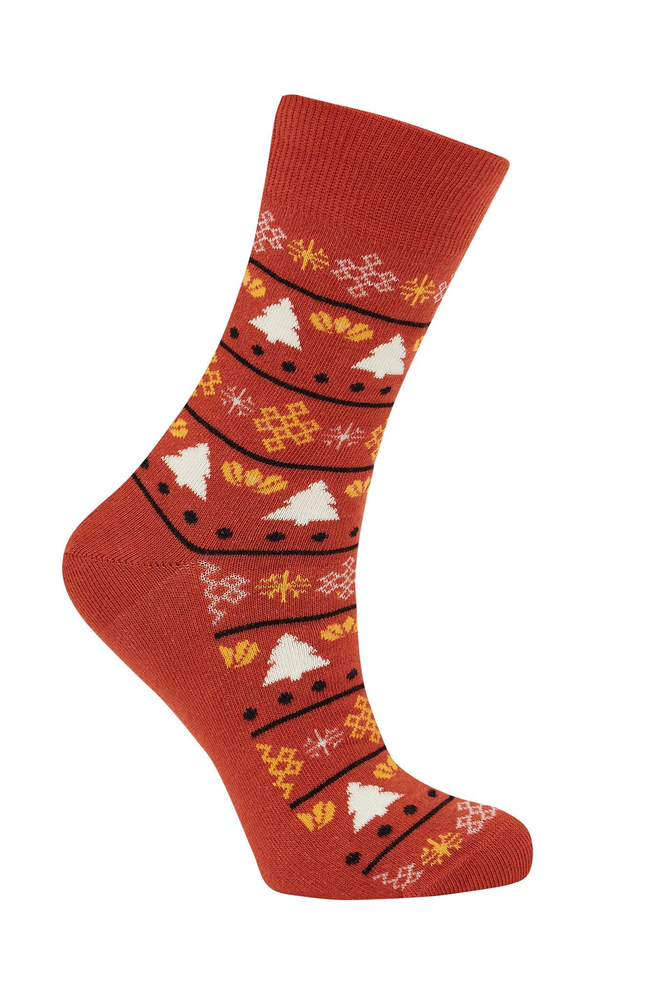 CHRISTMAS Lava - GOTS Organic Cotton Socks