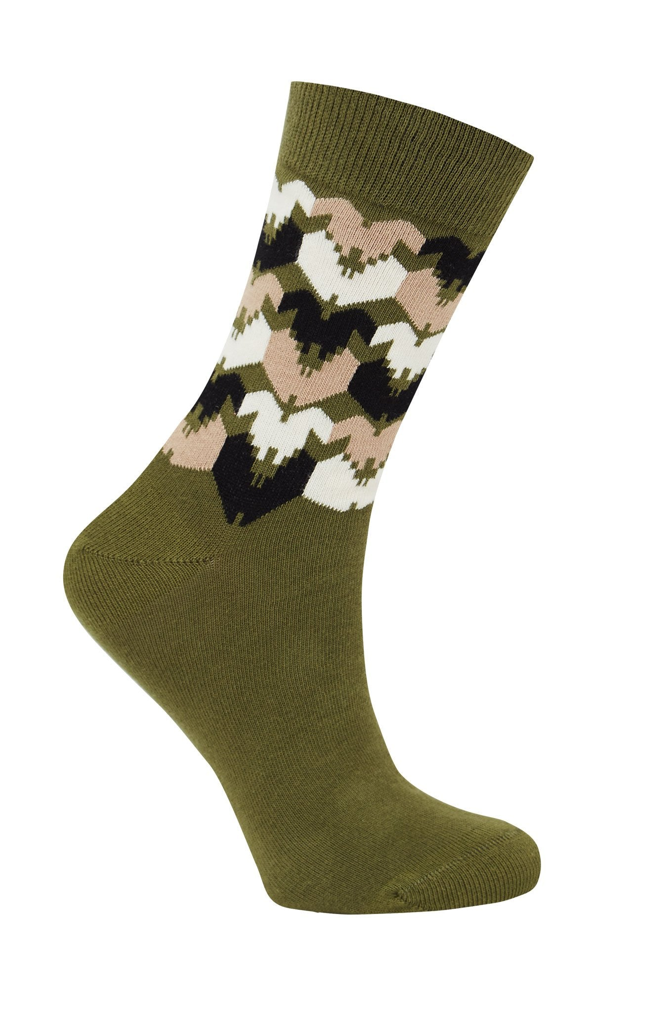 DHAKA Olive - GOTS Organic Cotton Socks