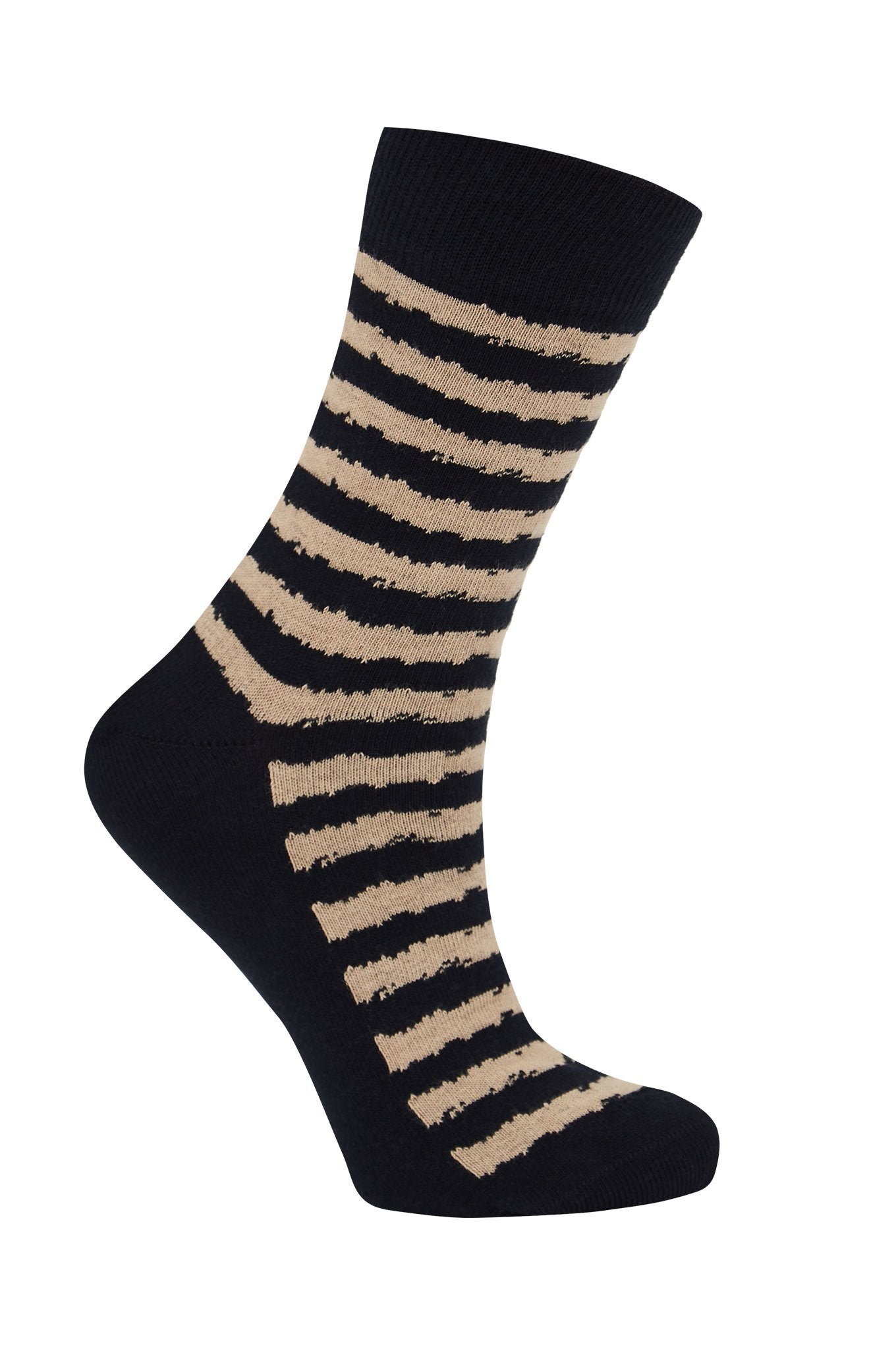 BROKEN BRETTON Ink - GOTS Organic Cotton Socks