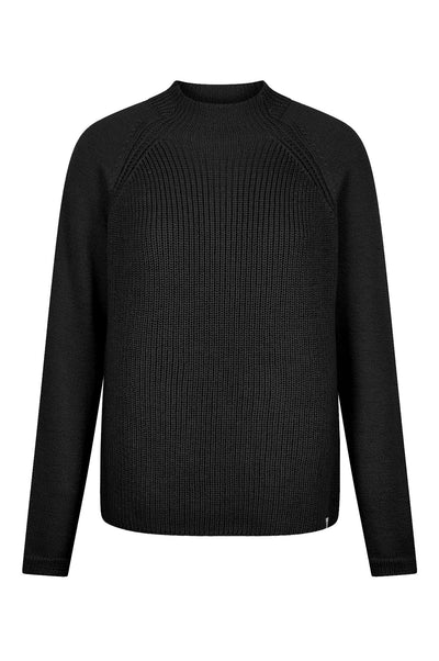 KATTY Merino Jumper Black