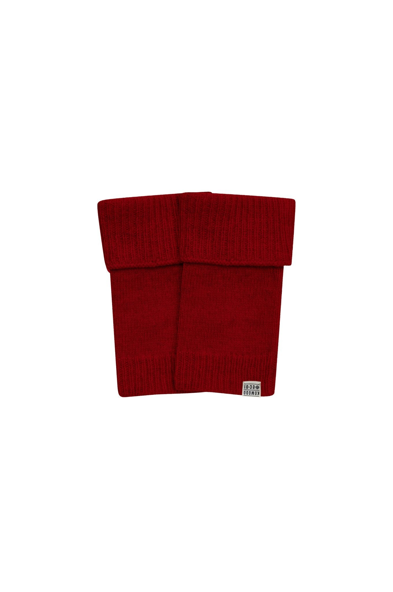 TOR Merino Wool Mittens Burnt Red - Komodo Fashion