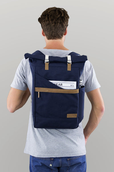 Backpack Ansvar I Blue - Komodo Fashion