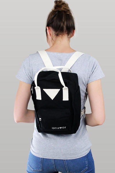 Mini Backpack Ansvar IV Black - Komodo Fashion