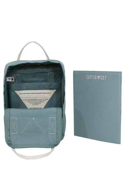 Mini Backpack Ansvar IV Teal - Komodo Fashion