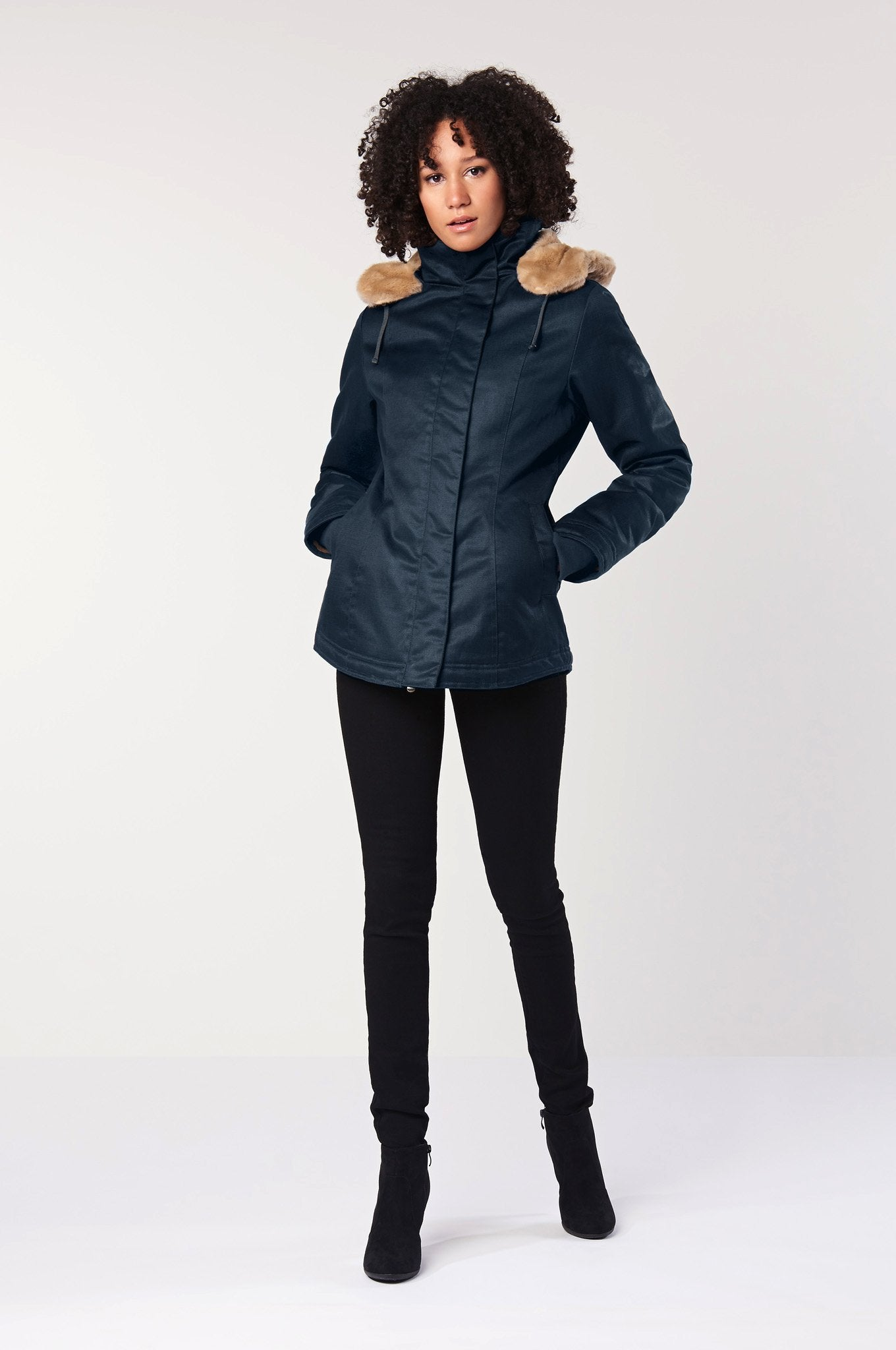 HEMP Vegan Jacket Navy - Komodo Fashion