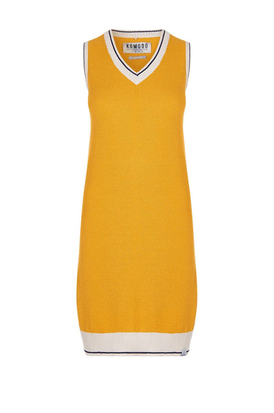 GRACE Organic Cotton Tank Dress Amber - Komodo Fashion