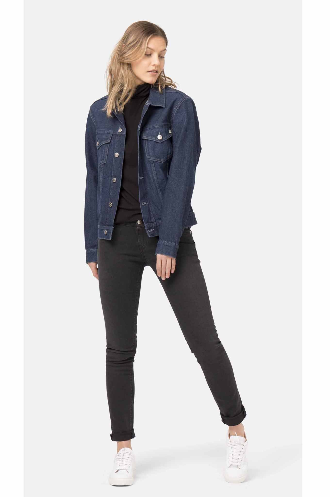 d338c59732 Jeans - LILLY Womens Skinny Black Jeans By MUD