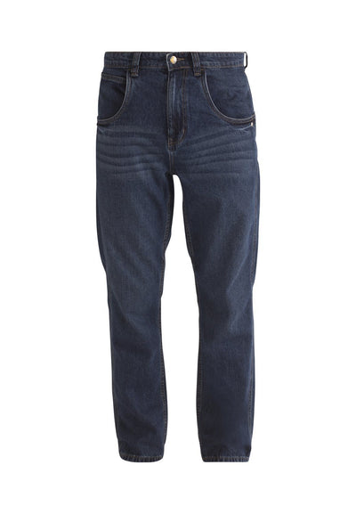 Worker Dark Vintage Organic Cotton Jeans - Komodo Fashion