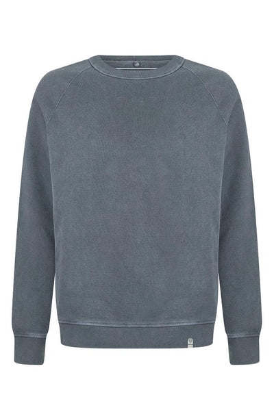 ANTON Organic Cotton Raglan Sweat Coal - Komodo Fashion