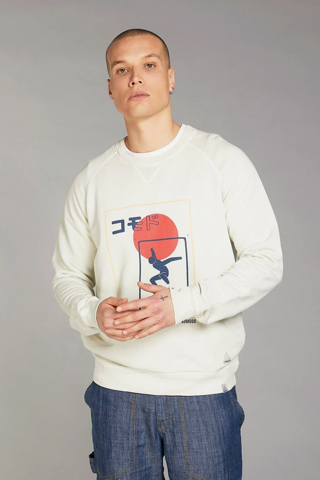 ANTON SK8 TEAM JAPAN Organic Cotton Sweat - Komodo Fashion
