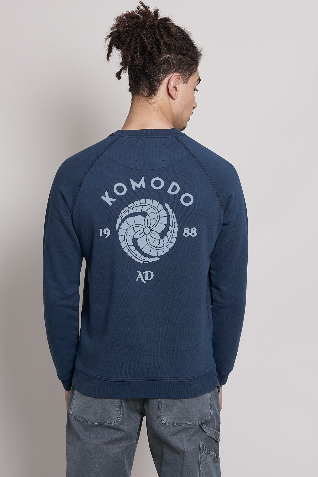 CREST ANTON Organic Cotton Sweat - Komodo Fashion
