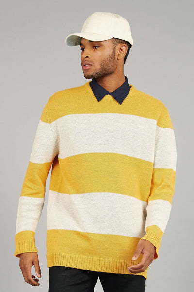 GUY Organic Linen Jumper Amber - Komodo Fashion