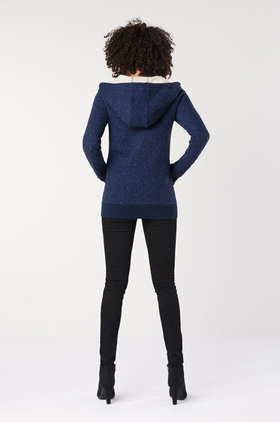 HEMP Hooded jacket navy - Komodo Fashion
