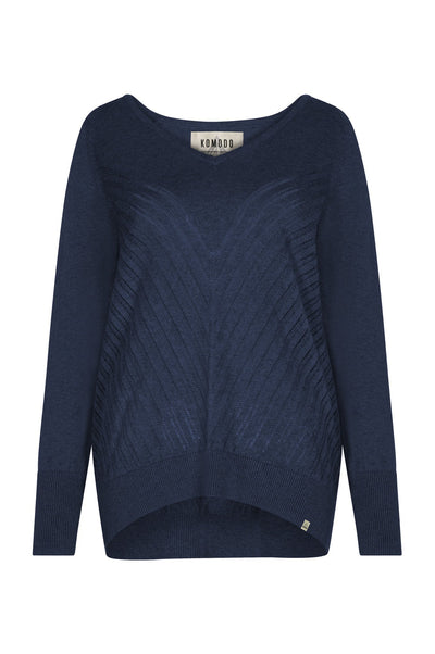MAHI Organic Cotton Jumper Navy - Komodo Fashion
