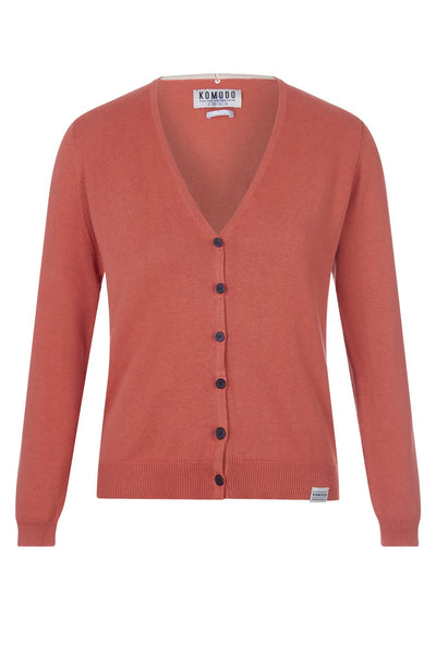 SASHA Organic Cotton Cardigan - Komodo Fashion