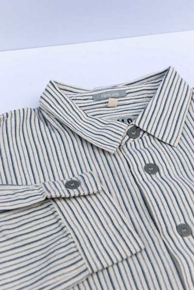 DELLER Organic Cotton Shirt - Komodo Fashion