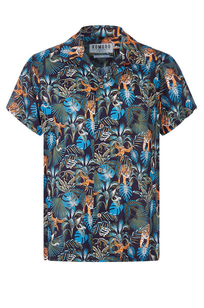 SPINDRIFT Rayon Shirt SOS Print - Komodo Fashion