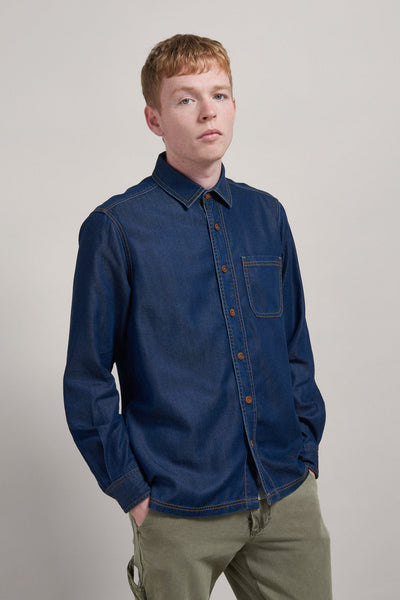 STETSON Tencel Denim Shirt - Komodo Fashion