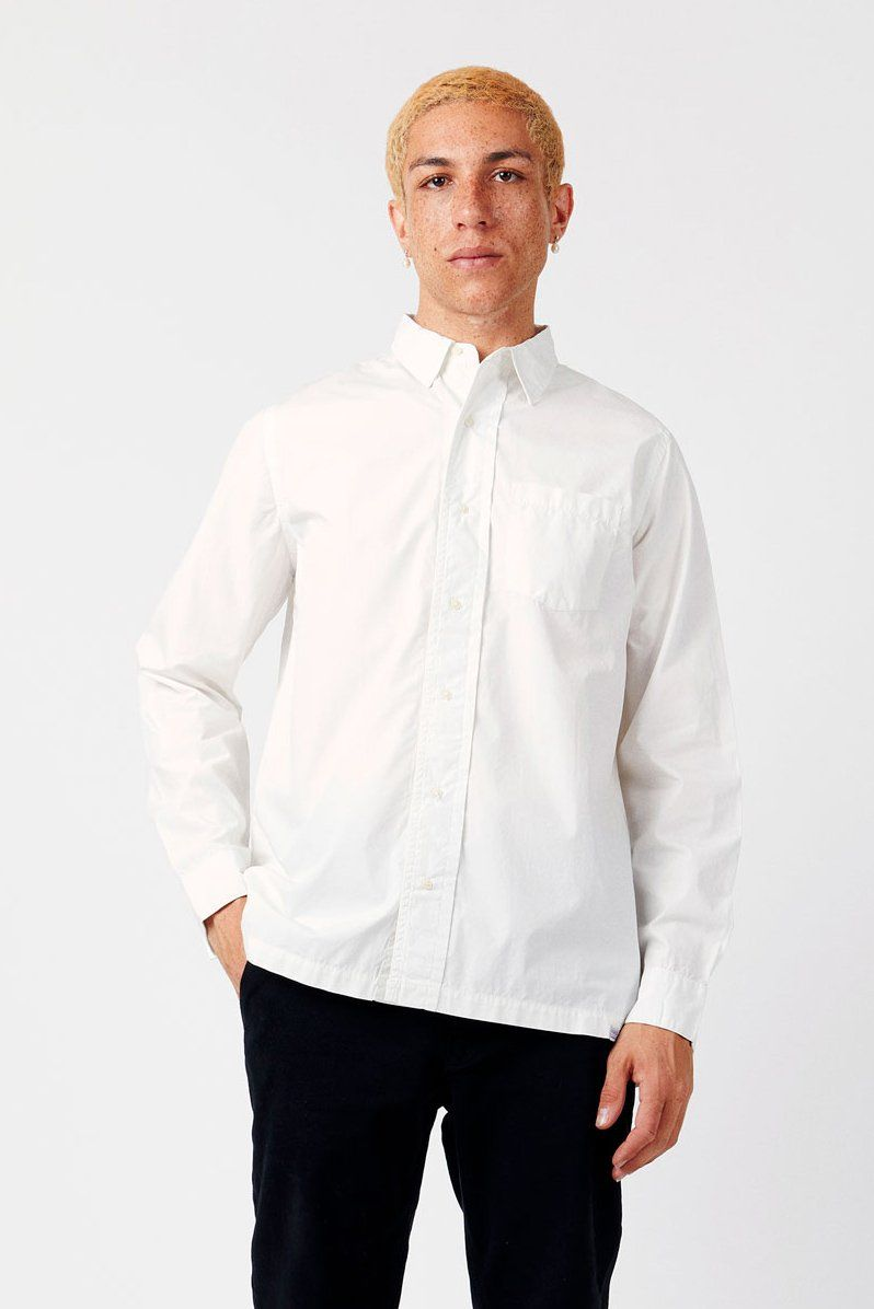 Shirt - THOMAS Organic Cotton Shirt White