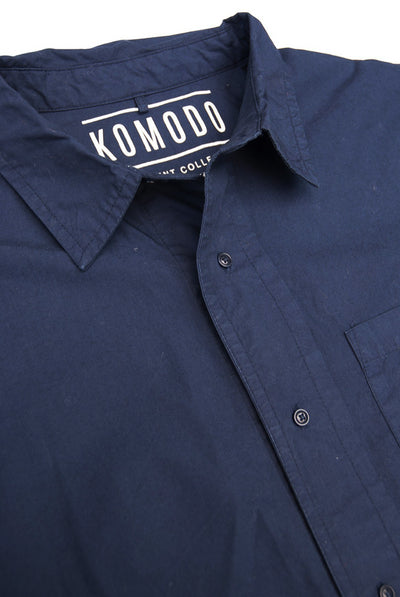 TOMAS Organic Cotton Shirt Indigo - Komodo Fashion