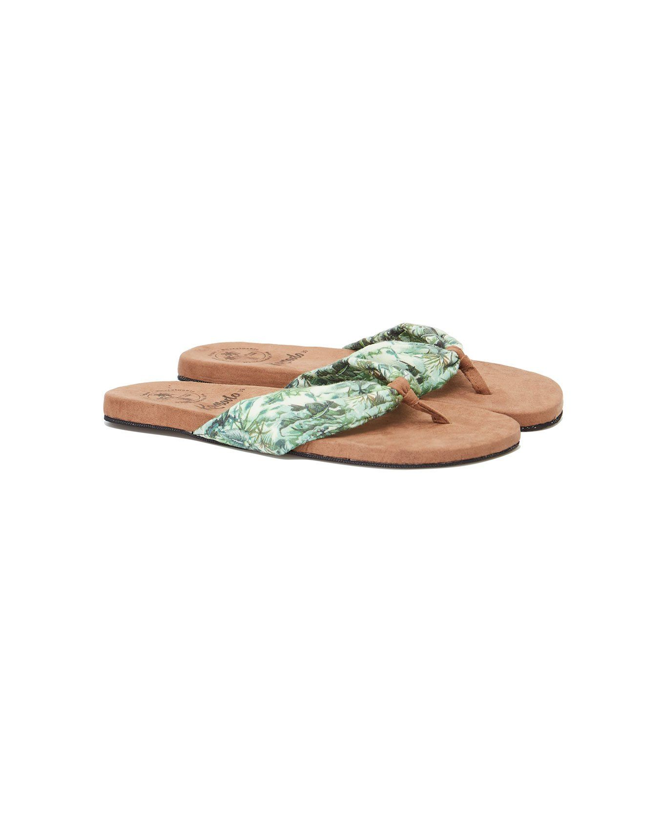 Shoes - CUPID THONG Womens Shoe Bali Tropic Green