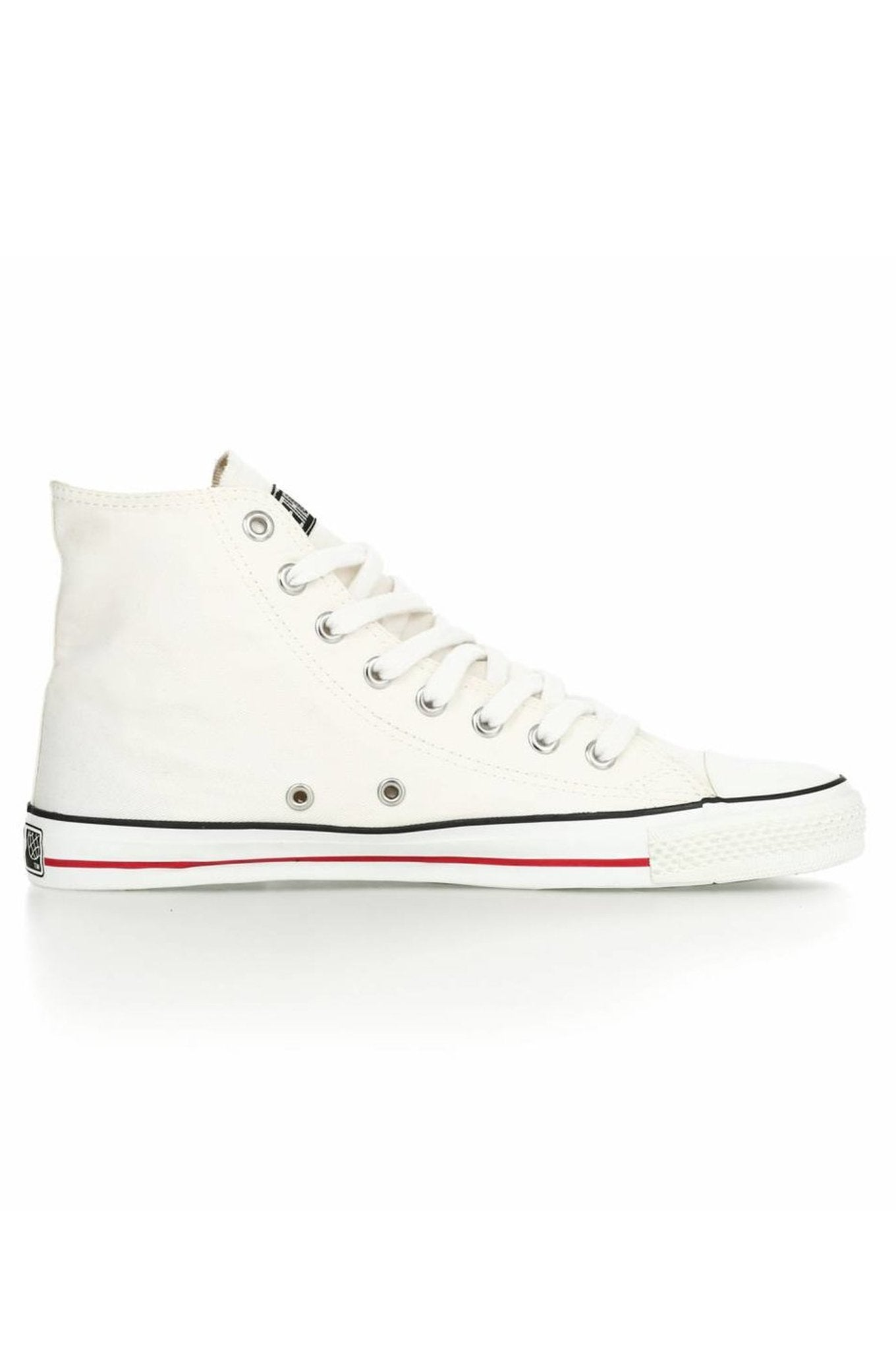 HI TOP CLASSIC Sneaker White by Ethletic - Komodo Fashion