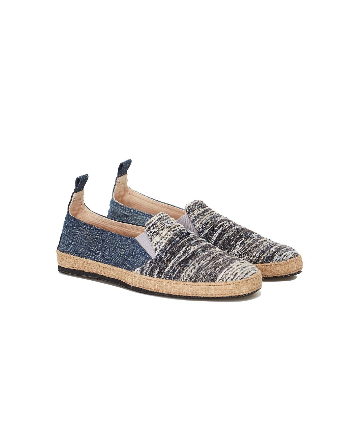 Shoes - KUNG FU Mens Shoe  Indigo