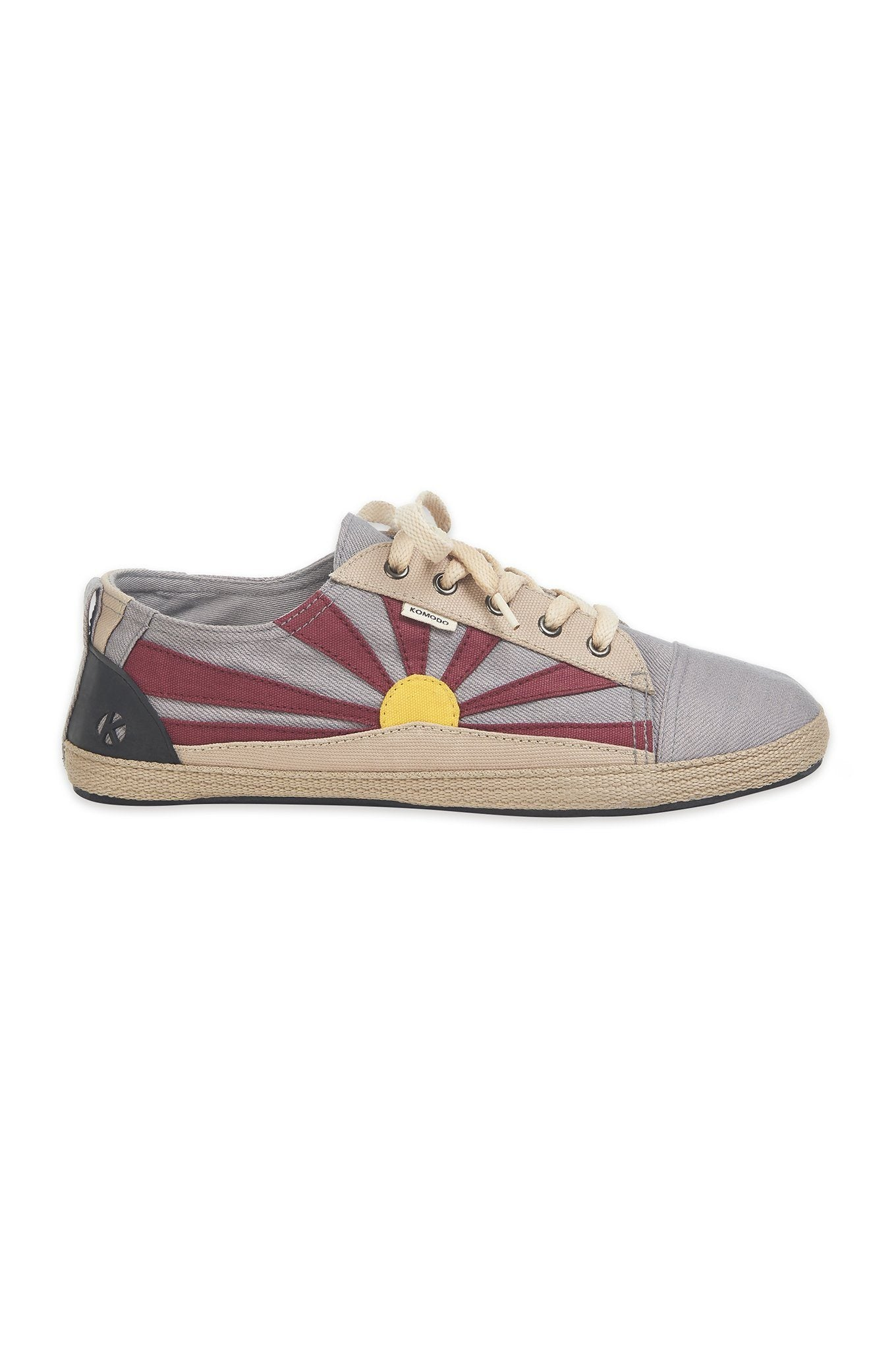 TIBET Grey Mens Shoes - Komodo Fashion
