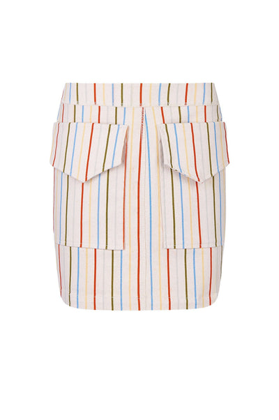 CARGO Organic Cotton Skirt Stripes Print - Komodo Fashion