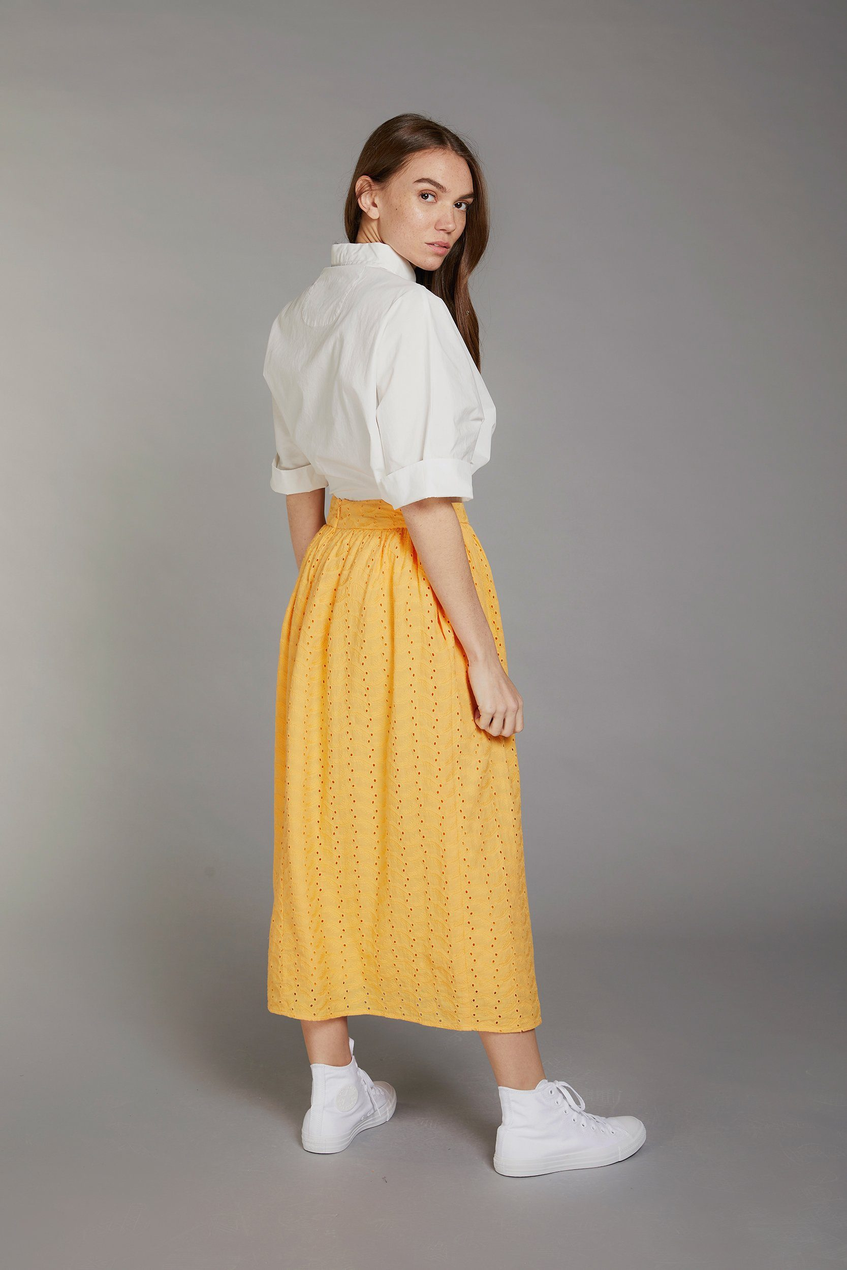 PARKLIFE Organic Cotton Skirt Amber - Komodo Fashion