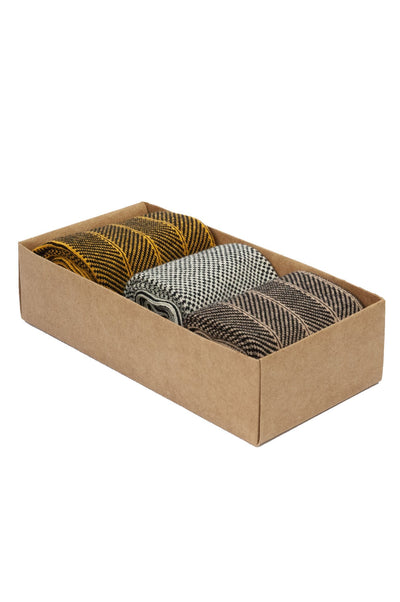 SMOKED HERRING Box Assorted - GOTS Organic Cotton Socks Set
