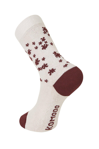 BLOSSOM Shell Organic Cotton Socks - Komodo Fashion