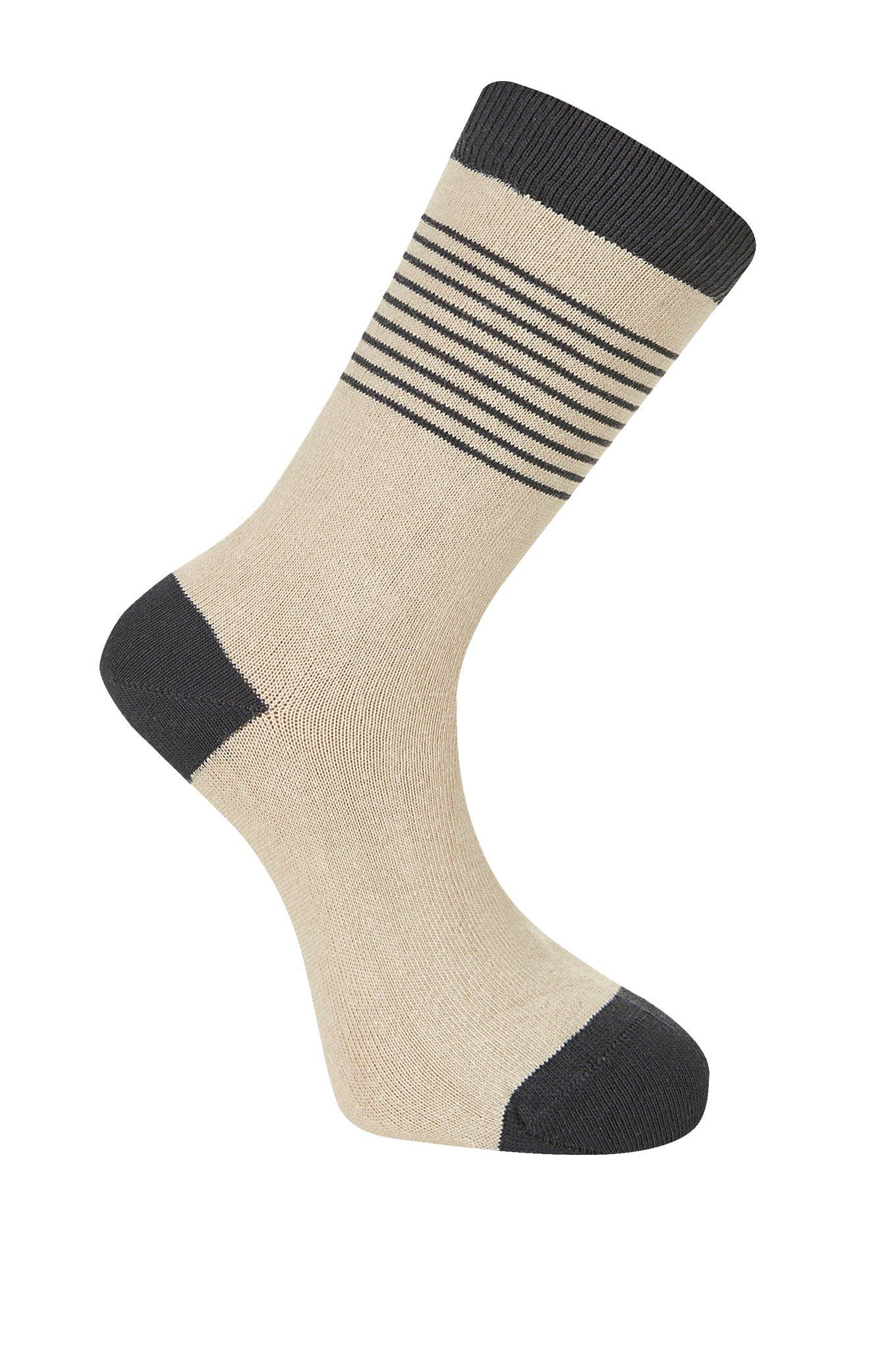 BRETON Camel Organic Cotton Socks - Komodo Fashion