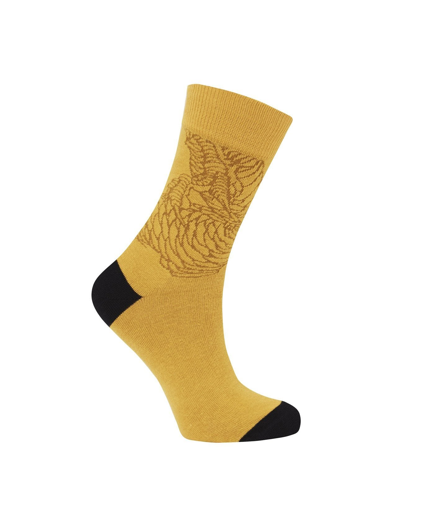 Socks - DRAGON Gold - GOTS Organic Cotton Socks