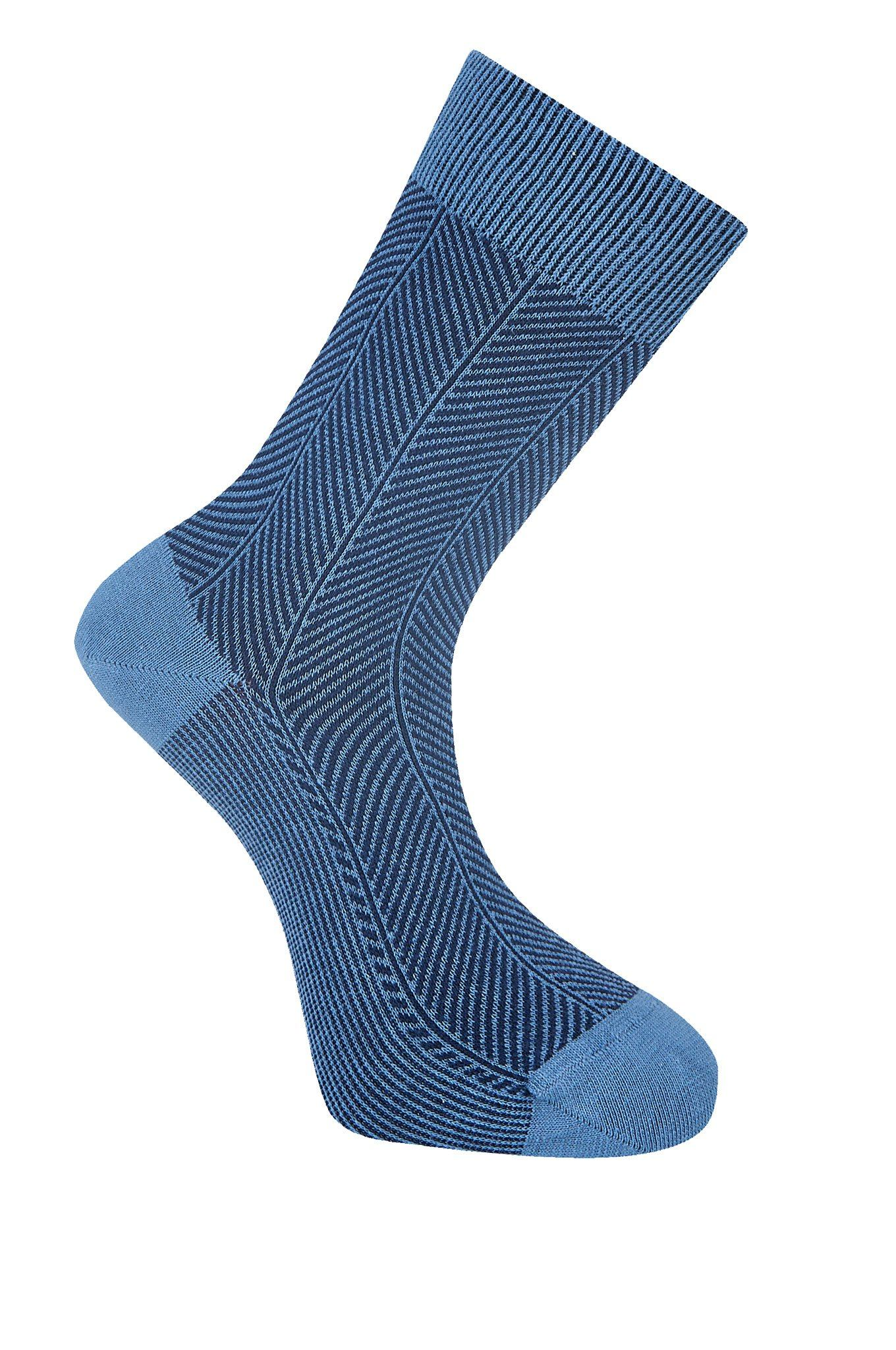 HERRINGBONE Hydron Organic Cotton Socks - Komodo Fashion
