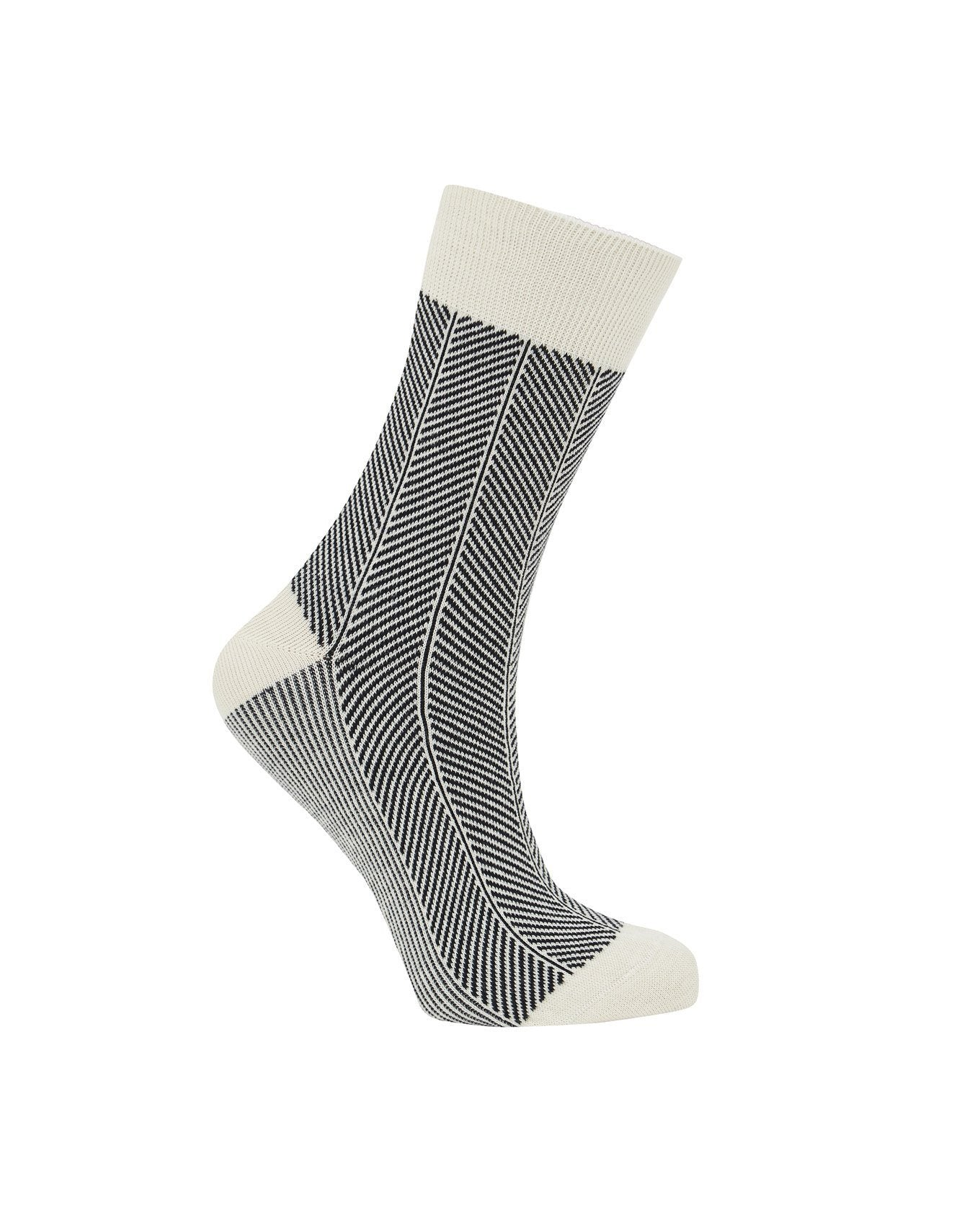 Socks - HERRINGBONE Ink - GOTS Organic Cotton Socks